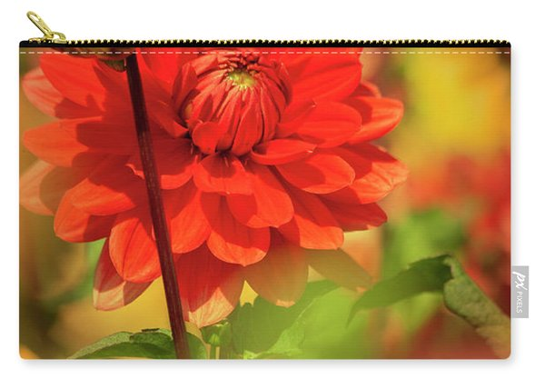 Dahlia In The Garden Carry-all Pouch