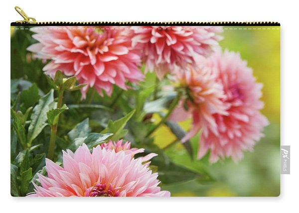 Dahlia Passion Fruit Carry-all Pouch
