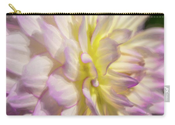 Dahlia Study 5 Painterly  Carry-all Pouch
