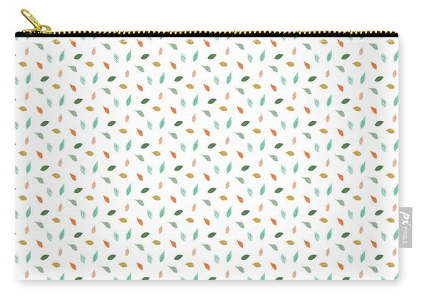 Dainty Leaves Carry-all Pouch