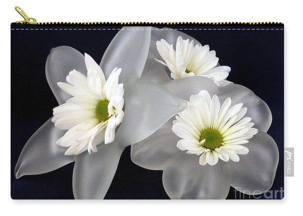 Daisies On Glass  Carry-all Pouch