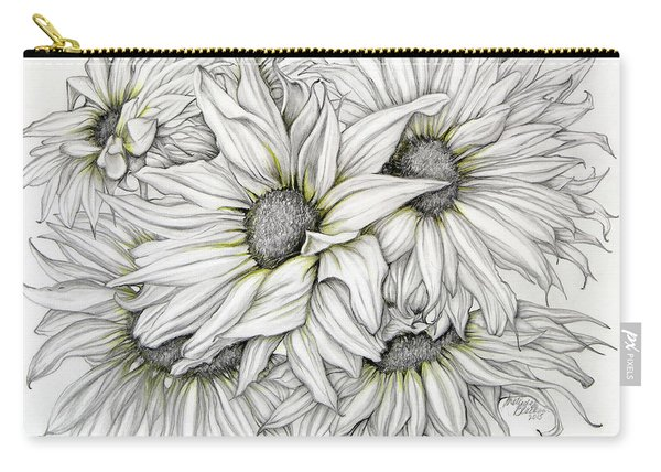 Sunflowers Pencil Carry-all Pouch