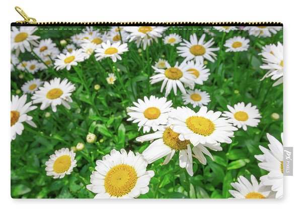Daisy Garden Carry-all Pouch