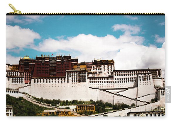 Dalai Lama Home Place. Potala Palace  Kailash Yantra.lv 2016 Tibet Carry-all Pouch