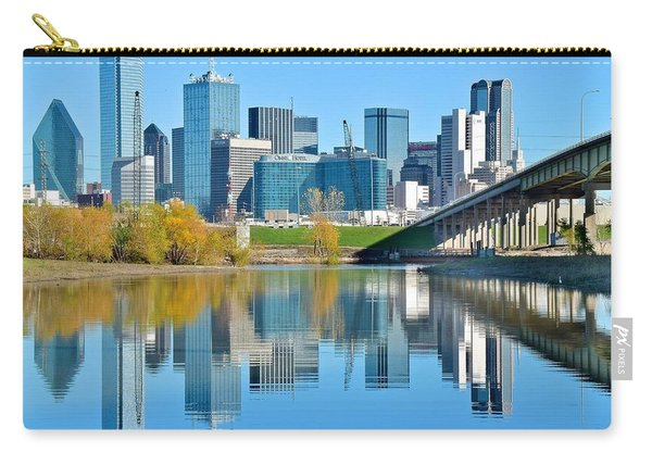 Dallas Above The Trinity River Carry-all Pouch