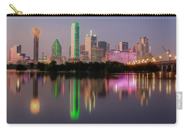 Dallas City Reflection Carry-all Pouch