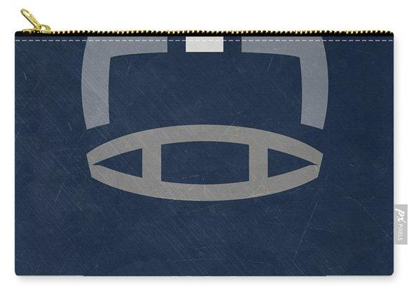 Dallas Cowboys Vintage Art Carry-all Pouch