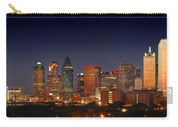 Dallas Skyline At Dusk  Carry-all Pouch