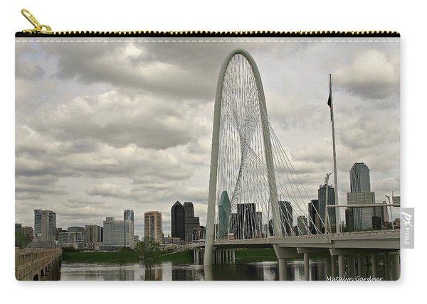 Dallas Suspension Bridge Carry-all Pouch