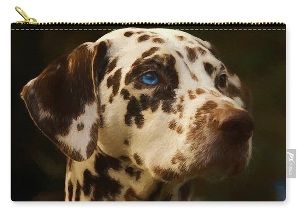 Dalmatian - Painting Carry-all Pouch