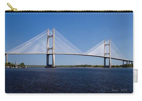 Dames Point Bridge Carry-all Pouch