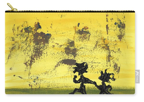 Dance Art Dancing Couple 147 Carry-all Pouch