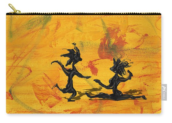 Dance Art Dancing Couple 238 Carry-all Pouch