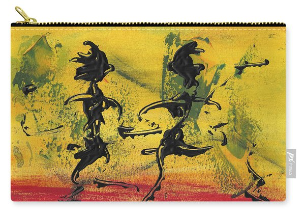 Dance Art Dancing Couple Viii Carry-all Pouch