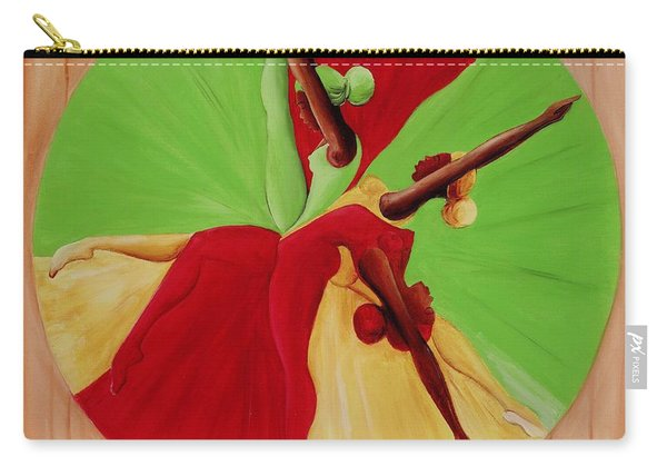 Dance Circle Carry-all Pouch