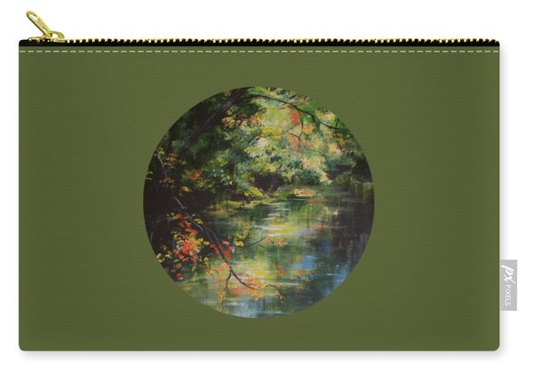 Dance Of Color And Light Carry-all Pouch