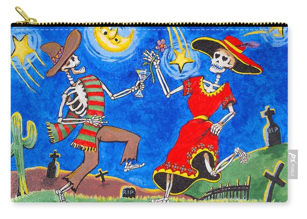 Dance Of The Dead Carry-all Pouch