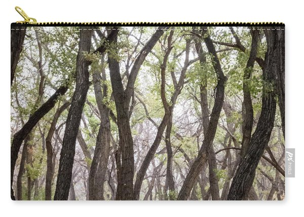 Carry-all Pouch featuring the photograph Dance Of The Trees by Mary Lee Dereske