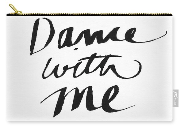 Dance With Me- Art By Linda Woods Carry-all Pouch