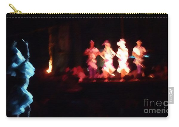 Dancer And Musicians Carry-all Pouch