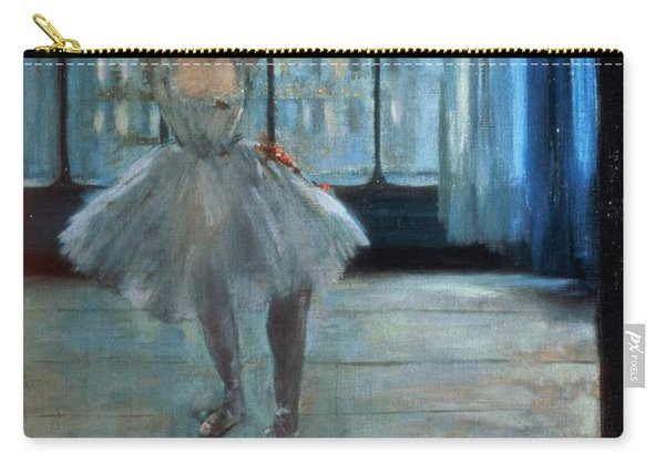Dancer In Front Of A Window Carry-all Pouch