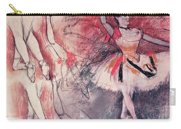 Dancer With Tambourine Or Spanish Dancer Carry-all Pouch