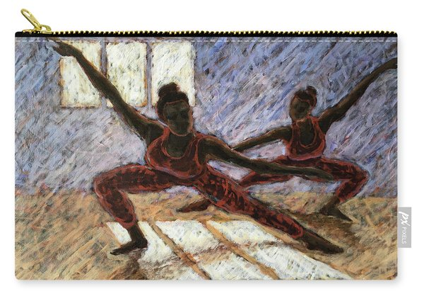 Dancers Near A Window Carry-all Pouch