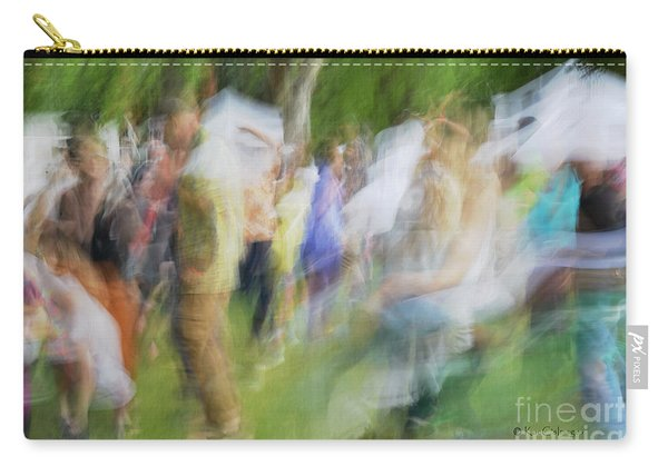 Dancing At The Music Festival Carry-all Pouch