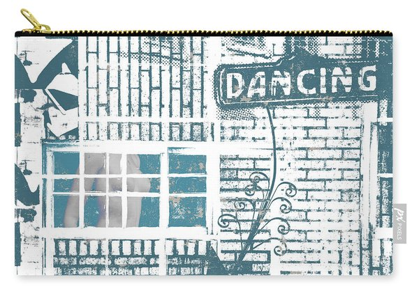 Dancing Collage Carry-all Pouch