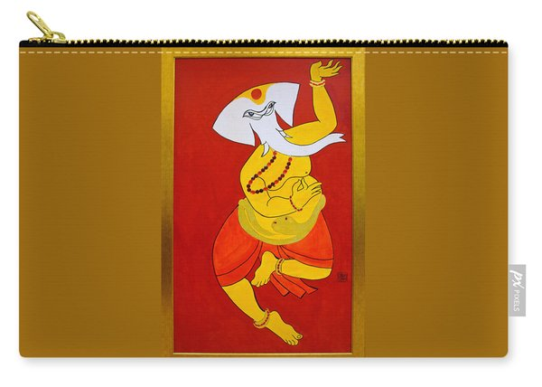 Dancing Ganesha Carry-all Pouch