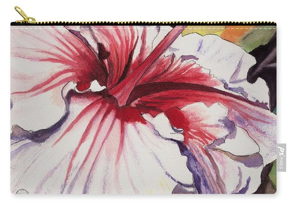 Dancing Hibiscus Carry-all Pouch