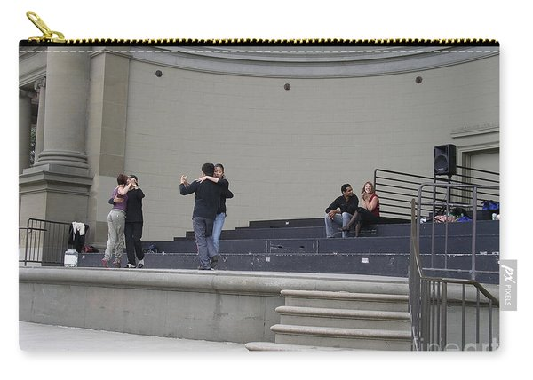 Carry-all Pouch featuring the photograph Dancing In Golden Gate Park by Cynthia Marcopulos