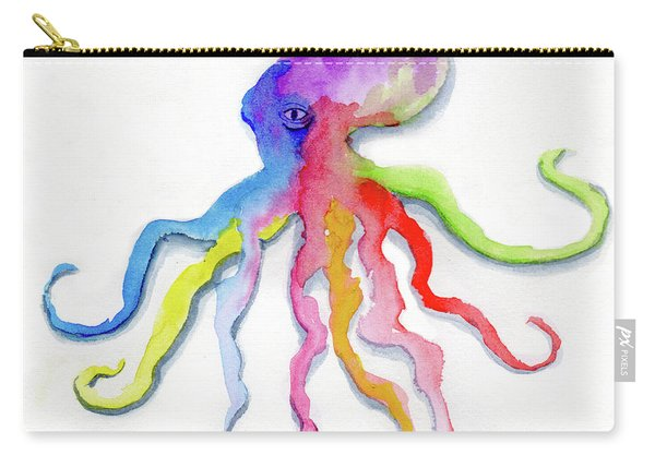 Dancing Octopus Carry-all Pouch