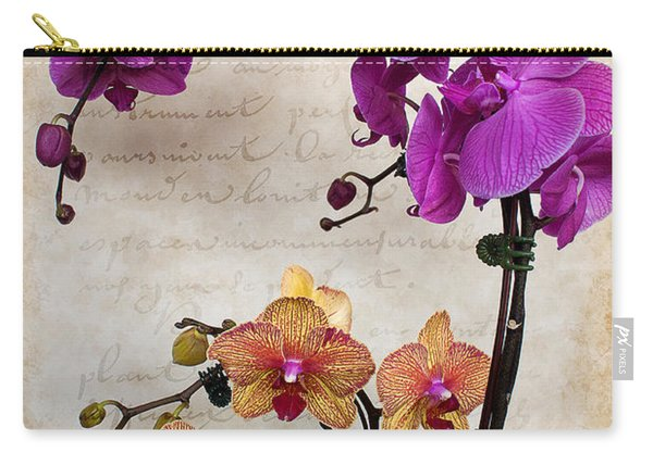 Dancing Orchids Carry-all Pouch