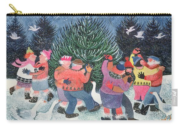 Dancing Round The Tree Carry-all Pouch