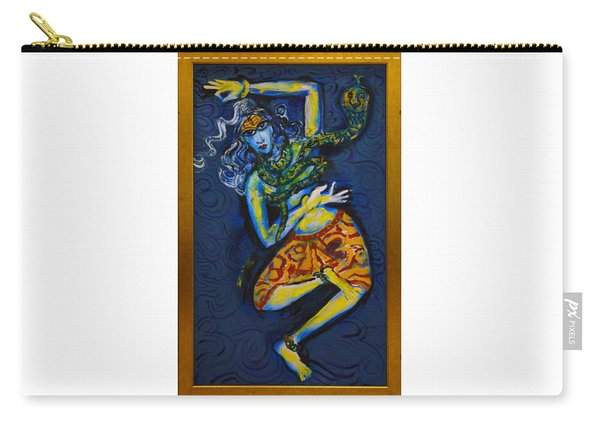 Dancing Shiva Carry-all Pouch