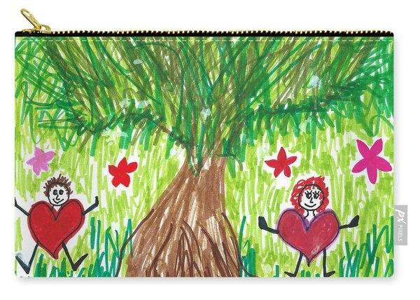 Dancing With Nature Carry-all Pouch