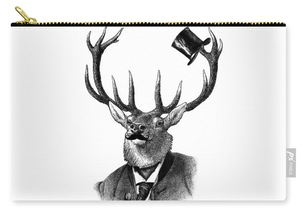 Dandy Deer Portrait Carry-all Pouch