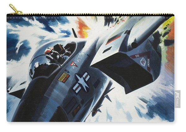 Danger From The Skies Carry-all Pouch