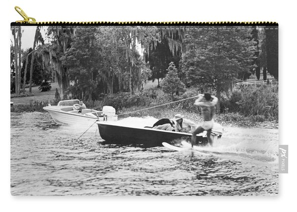 Dangerous Water Skiing Carry-all Pouch