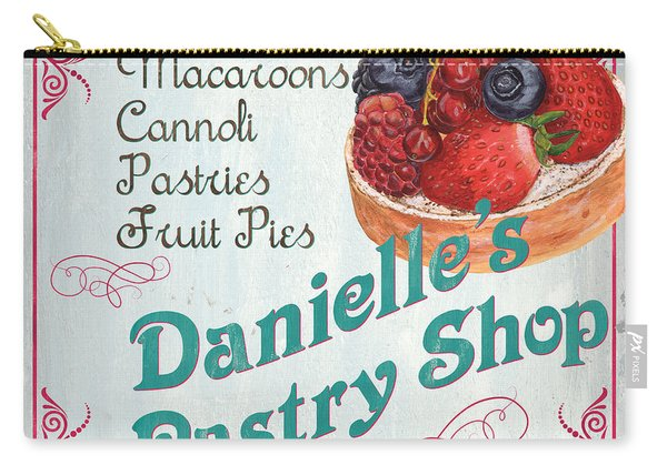 Danielle's Pastry Shop Carry-all Pouch