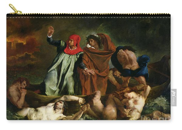 Dante And Virgil In The Underworld Carry-all Pouch