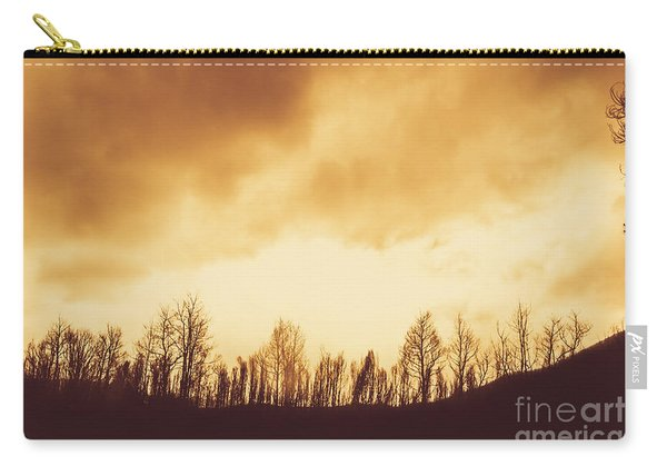 Dark Afternoon Woodland Carry-all Pouch