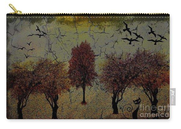 Dark Autumn Night Carry-all Pouch