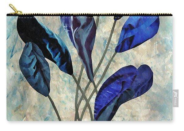 Dark Blue Carry-all Pouch