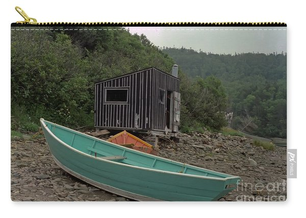 Dark Harbour Fisherman Shack And Boat Carry-all Pouch