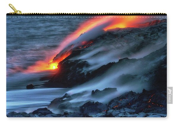 Dark Lava Carry-all Pouch