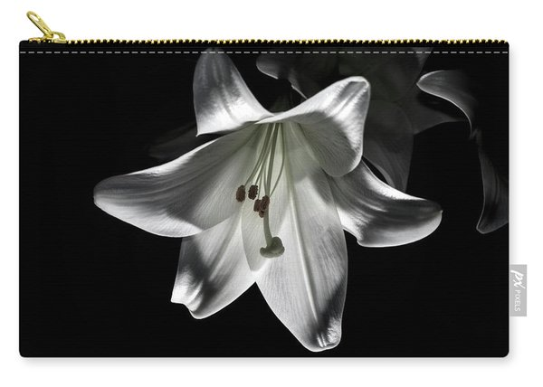 Dark Lilly Carry-all Pouch