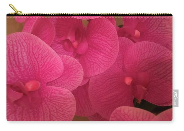 Dark Pink Orchids Carry-all Pouch