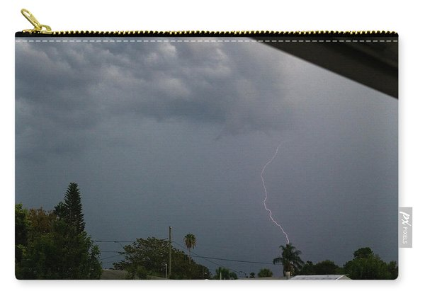 Dark Sky And Lightning Carry-all Pouch